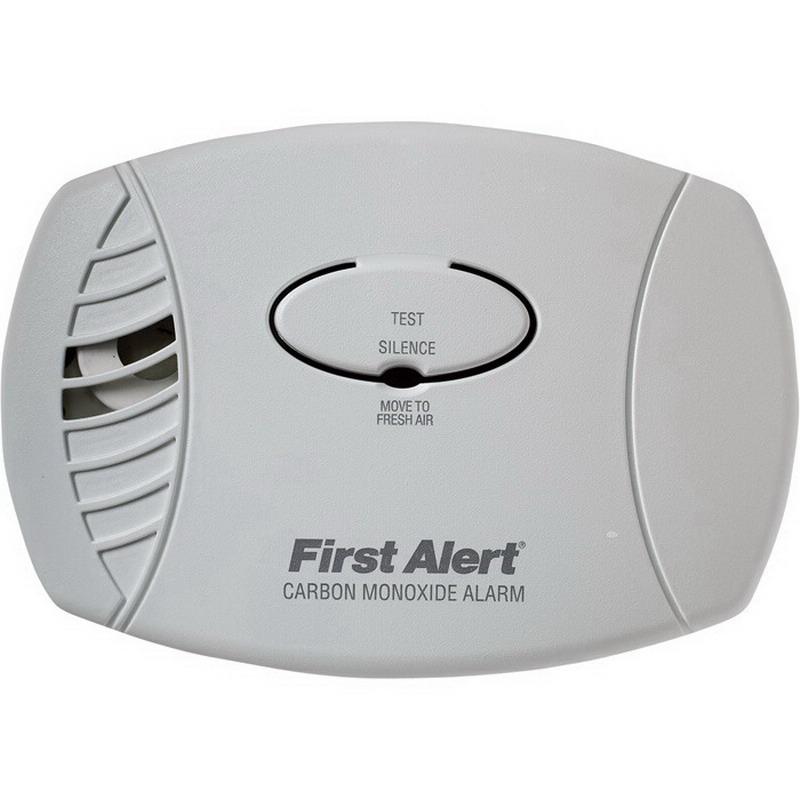 BRK CO600B Plug-In Carbon Monoxide Alarm; 120 Volt, 85 DB At 10 ft