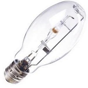 Eiko MH175/U ED28 Metal Halide Lamp; 175 Watt, 4000K, 70 CRI, Mogul Screw (E39) Base, 10000 Hour Life, Clear