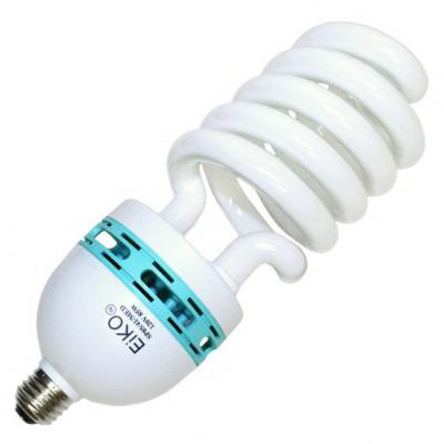 Eiko SP85/41/MED Compact Fluorescent Lamp; 85 Watt, 120 Volt, 4100K, >80 CRI, Medium Screw (E26) Base, 10000 Hour Life