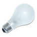 Eiko 75A/RS A19 Incandescent Lamp; 75 Watt, 130 Volt, 2660K, Medium Screw (E26) Base, 5000 Hour Life, Frosted
