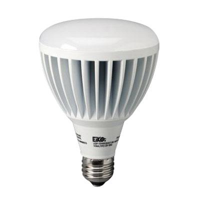 """""Eiko LEDP-15WBR30/830-DIM Reflector BR30 Replacement LED Lamp 15 Watt, 120 Volt, 3000K, 80 CRI, Medium Screw E26 Base, 40000 Hour Life,"""""" 694230"