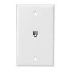 cooper wiring 3532 4w 1 gang standard wallplate box flush 1 4c cooper wiring 3532 4w 1 gang standard wallplate box flush 1 4c rj11 rj14 jack high impact flame retardant thermoplastic white