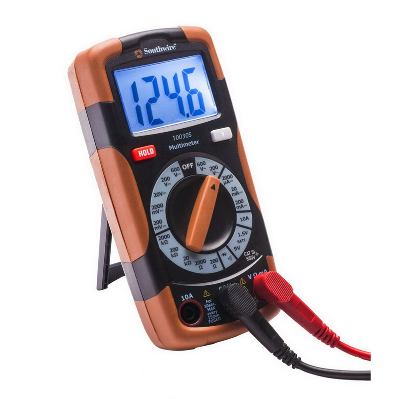 Southwire Electrical Tester : Southwire k electrical test kit volt ac dc