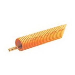Carlon DF4X1C-500R Riser-Gard® Reel Flexible Raceway With Tape; 1 Inch, 1.03 Inch ID x 1.31 Inch OD, PVC, Orange
