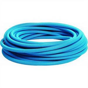 Carlon 12008-100 Flex-Plus® Blue™ Flexible Non-Metallic Electrical Tubing; 1 Inch, 1.00 Inch ID x 1.315 Inch OD, PVC, Blue