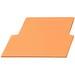 Carlon SCDIV Lamson Home Products Low Voltage Non-Metallic Divider Plate; Orange