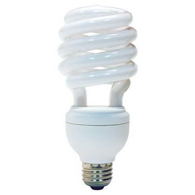 GE Lamps FLE32HT3/2D3CWBX Self-Ballasted Spiral 3-Way T3 Compact Fluorescent Lamp; 16 Watt, 120 Volt, 4100K, Medium Screw (E26) Base, 8000 Hour Life