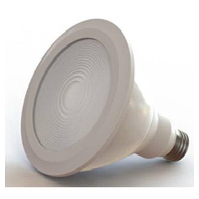"GE Lamps LED12DP38W930/25-120V Energy Smart Directional PAR38 Replacement LED Bulb 12 Watt, 120 Volt, 3000K, Medium Screw E26 Base, 25000 Hour Life, White,"""