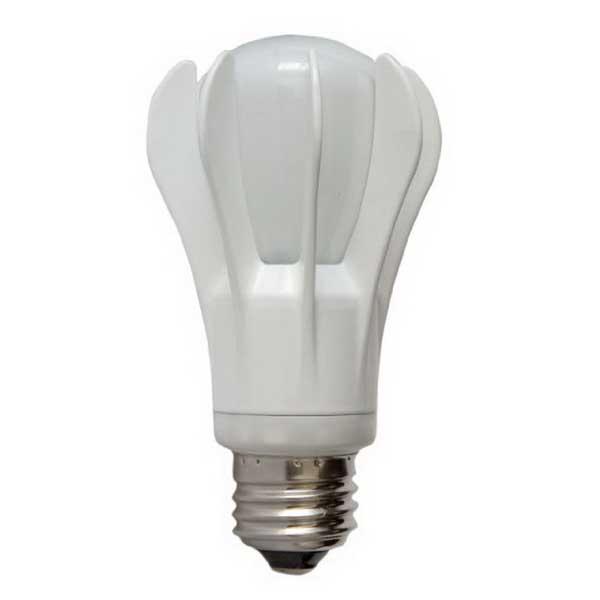 GE Lamps LED11DA19/5K-120 A-Line A19 Replacement LED Lamp; 11 Watt, 120 Volt, 5000K, Medium Screw (E26) Base, 15000 Hour Life, White