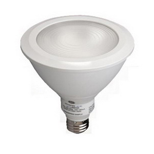 GE Lamps LED18D38W927/25-120 Directional PAR38 Replacement LED Bulb 18 Watt  120 Volt  2700K  Medium Screw E26 Base  White