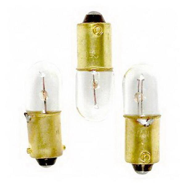 GE Lamps 1893-12 T and TL Shape T3.25 Miniature Lamp; 5 Watt, 14 Volt, Bayonet (BA9s) Base, 7500 Hour Life