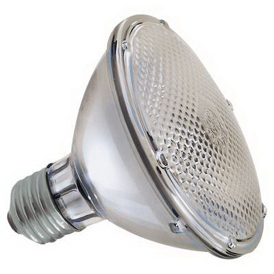 GE Lamps 48PAR30HIR/NFL-120 PAR30 Halogen Lamp 48 Watt  120 Volt  2775K  Medium Screw E26 Base  4200 Hour Life