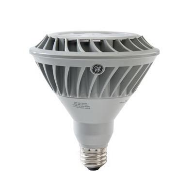 GE Lamps LED20DP38V827/25-120 Directional PAR38 Replacement LED Bulb 20 Watt  120 Volt  2700K  Medium Screw E26 Base  25000 Hour Life  Silver