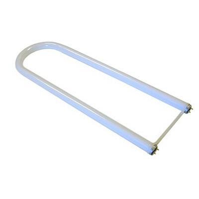 GE Lamps F32T8SP41/U6/ECO Ecolux® T8 U-Shape Linear Fluorescent Lamp; 32 Watt, 4100K, 78 CRI, Medium Bi-Pin (G13) Base, 20000 Hour Life