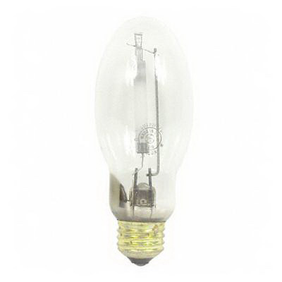 GE Lamps LU70/DX/MED Lucalox® Elliptical Deluxe B17 High Pressure Sodium Lamp; 70 Watt, 2200K, 65 CRI, Medium Screw (E26) Base, 10000 Hour Life, Clear
