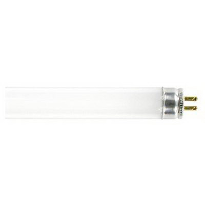 GE Lamps F24W/T5/841/ECO Ecolux® Straight T5 Linear Fluorescent Lamp; 24 Watt, 75 Volt, 4100K, 85 CRI, Miniature Bi-Pin (G5) Base, 30000 Hour Life