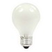 GE Lamps 75A/RS-130 Quartzline® A-Line A21 Incandescent Lamp; 75 Watt, 130 Volt, Medium Screw (E26) Base, 1000/2850 Hour Life, Inside Frosted