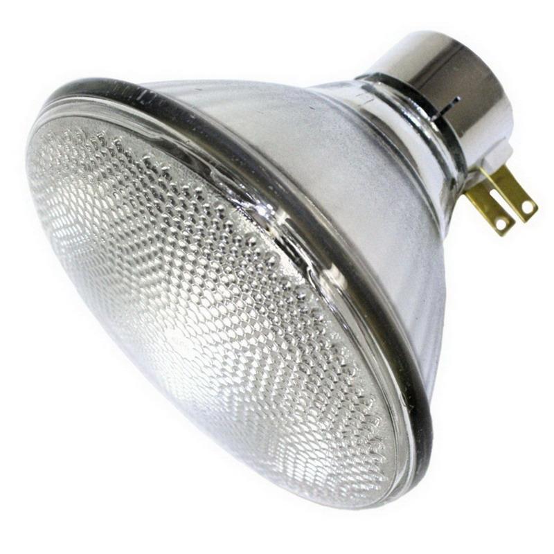 GE Lamps 120PAR/3FL/MINE-120 PAR38 Incandescent Reflector Lamp; 120 Watt, 120 Volt, Medium Side Prong Base, 2000 Hour Life
