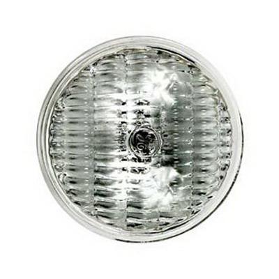 GE Lamps 25PAR-36WFL-12 Sealed Beam PAR36 Halogen Lamp; 25 Watt, 12 Volt, Screw Terminal (G53) Base, 2000 Hour Life