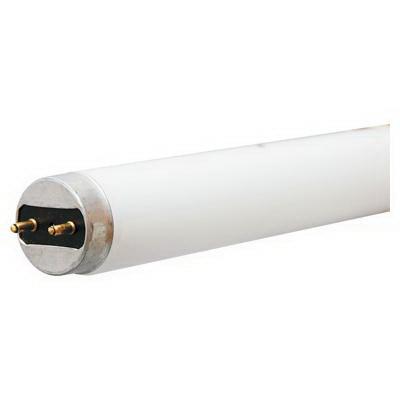 GE Lamps F32T8XLSPX50HCVG CovRguard® Ecolux® Straight T8 Linear Fluorescent Lamp; 32 Watt, 137 Volt, 5000K, 85 CRI, Medium Bi-Pin (G13) Base, 36000 Hour Life