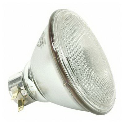 GE Lamps 150PAR/3FL/MINE-120 PAR38 Incandescent Reflector Lamp; 150 Watt, 120 Volt, 2775K, Medium Side Prong Base, 2000 Hour Life