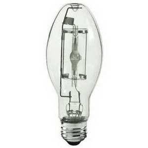 GE Lamps CMH150U942MED/O ConstantColor® PulseArc® CMH® ED17 Ceramic Metal Halide Lamp; 150 Watt, 4200K, 90 CRI, Medium Screw (E26) Base, 15000 Hour Life, Clear
