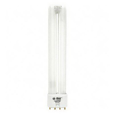 GE Lamps F18BX/SPX41- Biax® Plug-In T5 Compact Fluorescent Lamp; 18 Watt, 58 Volt, 4100K, 82 CRI, 4-Pin (2G11) Base, 10000 Hour Life