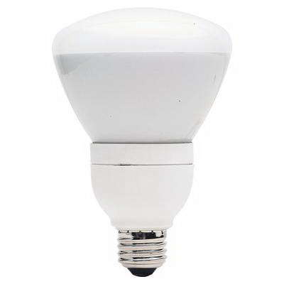 GE Lamps FLE15/2/R30XL827 Self-Ballasted R30 Compact Fluorescent Lamp; 16 Watt, 120 Volt, 2700K, 82 CRI, Medium Screw (E26) Base, 10000 Hour Life, Soft White
