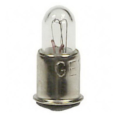 GE Lamps 387-28 T and TL Shape T1.75 Miniature Lamp; 1 Watt, 28 Volt, Single Contact Midget Flanged Base, 7000 Hour Life
