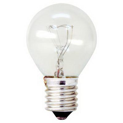 GE Lamps 40S11N/1-CARD-120 Quartzline® S11 Incandescent Lamp; 40 Watt, 120 Volt, Intermediate Screw (E17) Base, 500 Hour Life, Clear