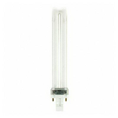 GE Lamps F13BX/835/ECO Ecolux® Plug-In T4 Compact Fluorescent Lamp; 13 Watt, 59 Volt, 3500K, 82 CRI, GX23 Base, 10000 Hour Life