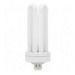 GE Lamps F42TBX/841/A/ECO Ecolux® Plug-In T4 Compact Fluorescent Lamp; 42 Watt, 135 Volt, 4100K, GX24q-4 Base, 17000 Hour Life