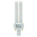 GE Lamps F13DBX23/827/ECO Ecolux® Plug-In T4 Compact Fluorescent Lamp; 13 Watt, 120 Volt, 2700K, 82 CRI, GX23-2 Base, 10000 Hour Life