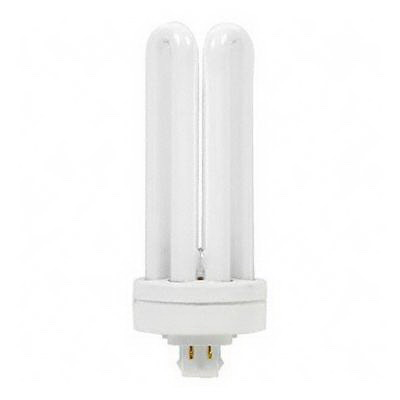 GE Lamps F42TBX/830/A/ECO Ecolux® Plug-In T4 Compact Fluorescent Lamp; 42 Watt, 120/135 Volt, 3000K, GX24q-4 Base, 17000 Hour Life