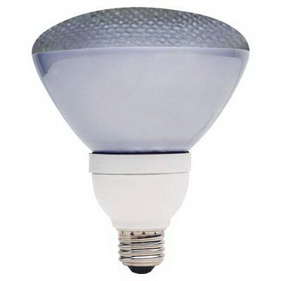 GE Lamps FLE26/2PAR38XCD Long Life Energy Smart® Self-Ballasted PAR38 Compact Fluorescent Lamp; 26 Watt, 120 Volt, 2700K, 82 CRI, Medium Screw (E26) Base, 10000 Hour Life