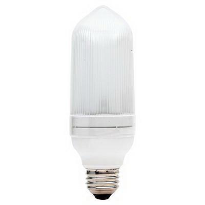 GE Lamps FLE14/2/TC16SWCD Long Life Energy Smart® Self-Ballasted TC16 Compact Fluorescent Lamp; 14 Watt, 14 Volt, 2700K, 82 CRI, Medium Screw (E26) Base, 10000 Hour Life