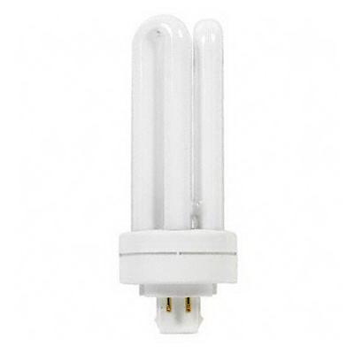 GE Lamps F13TBX/827/A/ECO Ecolux® Biax® Plug-In Triple T4 Compact Fluorescent Lamp; 13 Watt, 120/91 Volt, 2700K, GX24q-1 Base, 17000 Hour Life