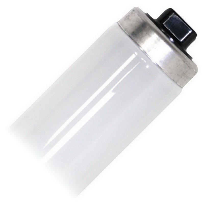 GE Lamps F64T12CW/HO-1 Quartzline® Straight T12 Linear Fluorescent Lamp; 80 Watt, 100 Volt, 4100K, 60 CRI, Recessed Double Contact (R17d) Base, 12000 Hour Life, White