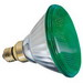 GE Lamps 100PAR/G/85WM-120 Quartzline® PAR38 Incandescent Reflector Lamp; 85 Watt, 120 Volt, Medium Skirt (E26/50x39) Base, 2000 Hour Life, Green