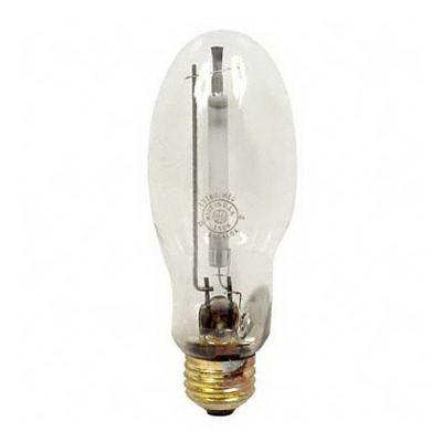 GE Lamps LU150/MED/ECO Lucalox® Elliptical B17 High Pressure Sodium Lamp; 150 Watt, 2000K, 22 CRI, Medium Screw (E26) Base, 24000 Hour Life, Clear