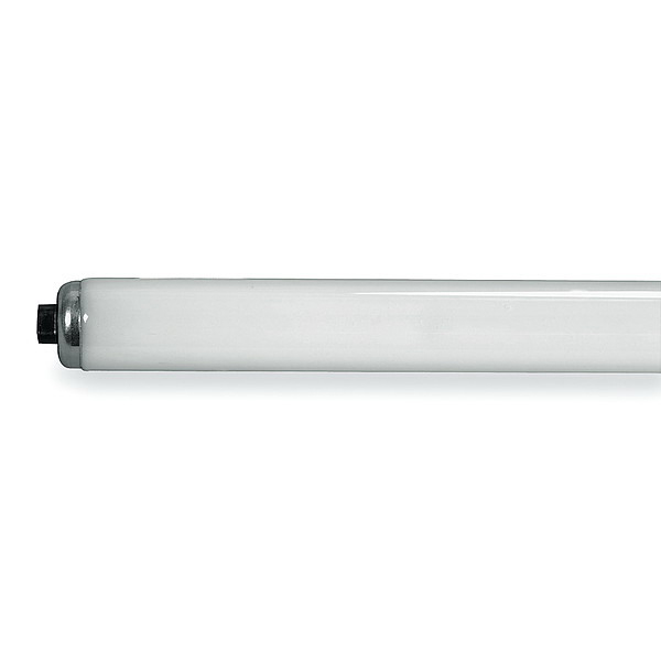 GE Lamps F96T12/D/HO/CT Quartzline® Straight T12 Linear Fluorescent Lamp; 110 Watt, 153 Volt, 6500K, 75 CRI, Recessed Double Contact (R17d) Base, 12000 Hour Life