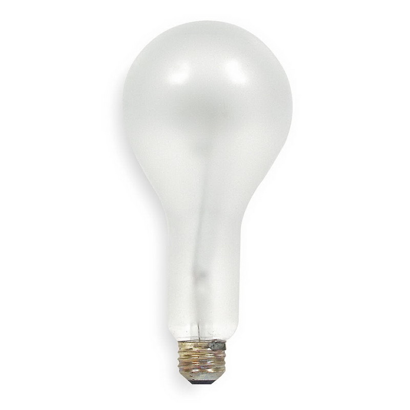 GE Lamps 200PS30RS/23/STG-130 A-Line PS30 Incandescent Lamp; 200 Watt, 130/120 Volt, Medium Screw (E26) Base, 1000/2600 Hour Life, Inside Frosted