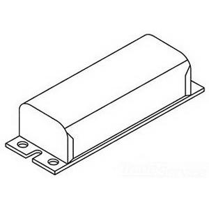 GE Lamps 1111247SCTC0GEC Magnetic Standard F-Can HID Ballast; 120/277 Volt/300 Volt Circuit, 460 Watt Input, 1-Lamp, Pulse Start