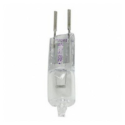 GE Lamps Q35T3/12V/CL-12 Quartzline® Single-Ended T3 Halogen Lamp; 35 Watt, 12 Volt, Bi-Pin (GY6.35) Base, 2000 Hour Life