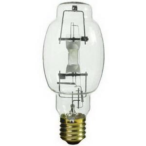 GE Lamps MVR400/VBUED28HO Multi-Vapor® Elliptical ED28 Quartz Metal Halide Lamp; 400 Watt, 4000K, 65 CRI, Mogul Screw (E39) Base, 20000 Hour Life, Clear