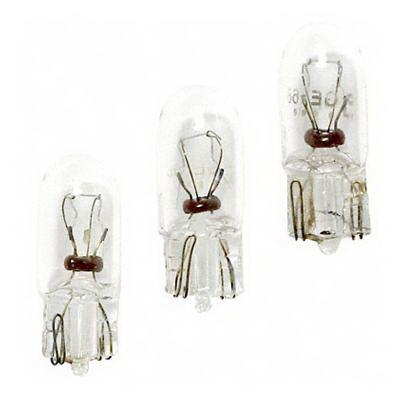GE Lamps 168-14 T3.25 Miniature Lamp; 5 Watt, 14 Volt, Wedge (W2.1x9.5d) Base, 1500 Hour Life