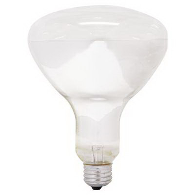 GE Lamps 65R40/FL/MI-120 BR40 Incandescent Reflector Lamp; 65 Watt, 120 Volt, 2600K, Medium Screw (E26) Base, 2000 Hour Life, Soft White