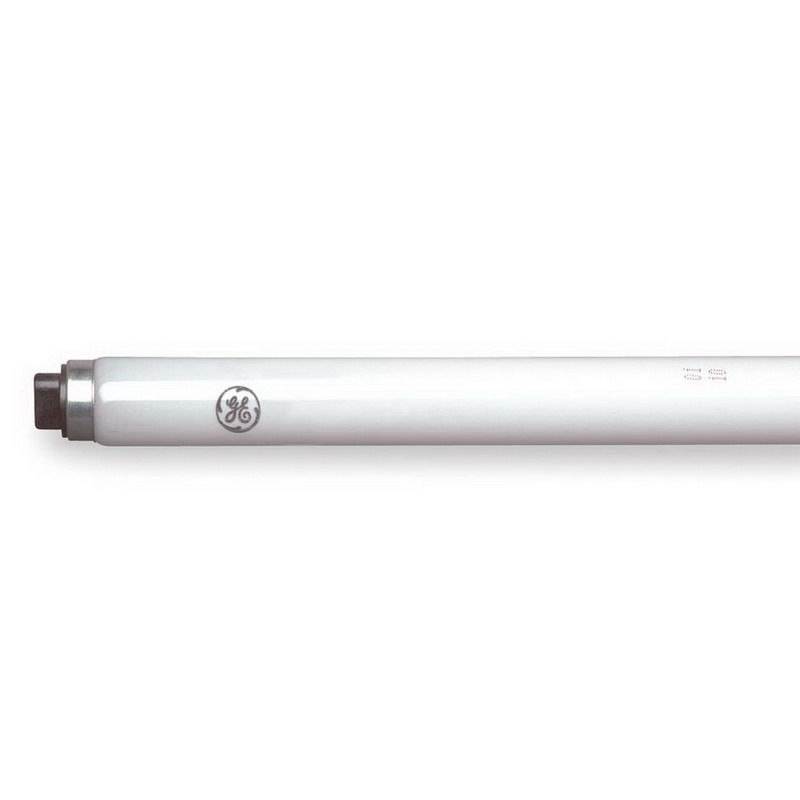 GE Lamps F96T8/SP35/HO Quartzline® Straight T8 Linear Fluorescent Lamp; 86 Watt, 216 Volt, 3500K, 78 CRI, Recessed Double Contact (R17d) Base, 18000 Hour Life