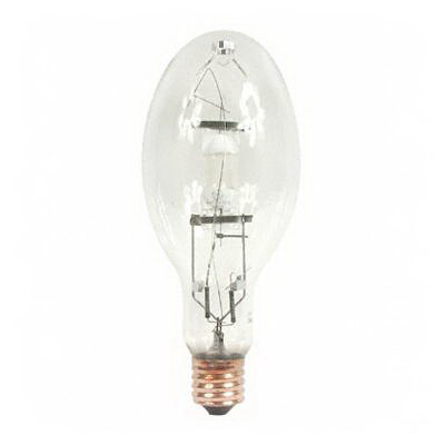 GE Lamps MVR400HOR/PA Multi-Vapor® PulseArc® Elliptical ED37 Quartz Metal Halide Lamp; 400 Watt, 135 Volt, 4100K, 65 CRI, E39 Base, 20000 Hour Life, Clear