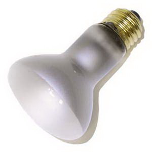 GE Lamps 45R20/130V-130 R20 Incandescent Reflector Lamp; 45 Watt, 130 Volt, 2500K, Medium Screw (E26) Base, 2000/4000 Hour Life